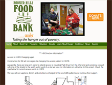 Tablet Preview of hhfoodbank.org